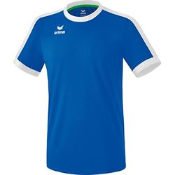 Erima Retro Star Shirt Korte Mouw Heren - New Royal / Wit