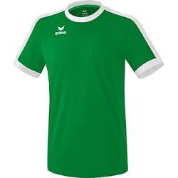 Erima Retro Star Shirt Korte Mouw Kinderen - Smaragd / Wit