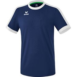 Erima Retro Star Shirt Korte Mouw Heren - New Navy / Wit