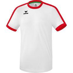 Erima Retro Star Shirt Korte Mouw Kinderen - Wit / Rood