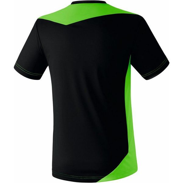Erima Glasgow Shirt Korte Mouw Kinderen - Zwart / Green