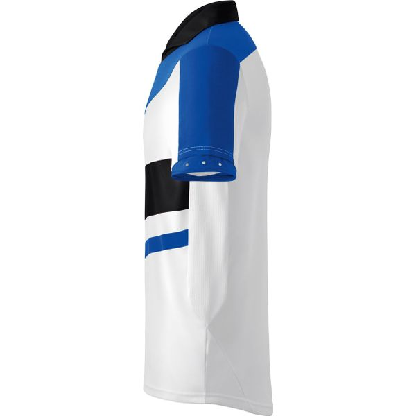 Erima Madrid Shirt Korte Mouw - Wit / New Royal / Zwart