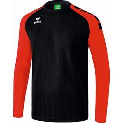 Erima Tanaro 2.0 Voetbalshirt Lange Mouw Kinderen - Zwart / Rood