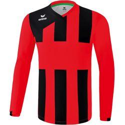 Erima Siena 3.0 Voetbalshirt Lange Mouw Kinderen - Rood / Zwart
