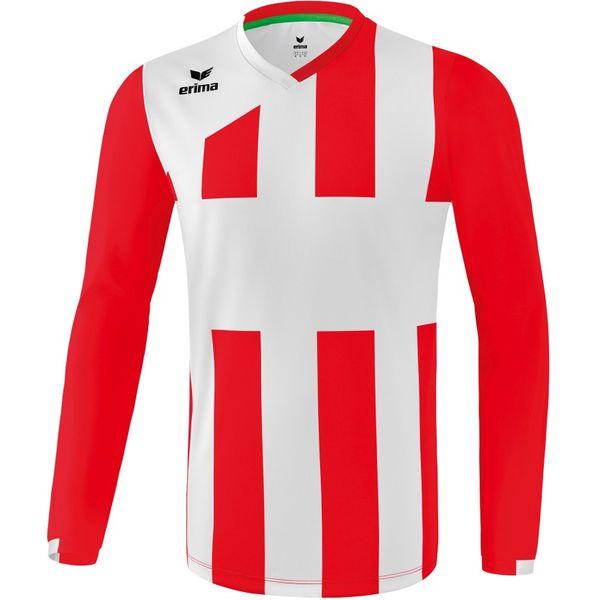Erima Siena 3.0 Voetbalshirt Lange Mouw Kinderen - Rood / Wit