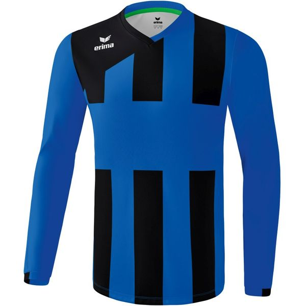 Erima Siena 3.0 Voetbalshirt Lange Mouw Kinderen - New Royal / Zwart
