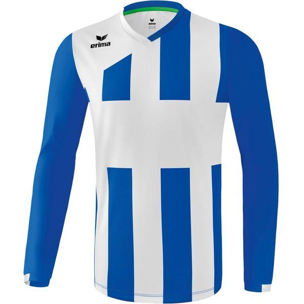 Erima Siena 3.0 Voetbalshirt Lange Mouw - New Royal / Wit