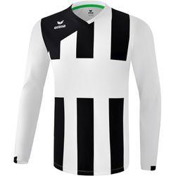 Erima Siena 3.0 Voetbalshirt Lange Mouw Heren - Wit / Zwart