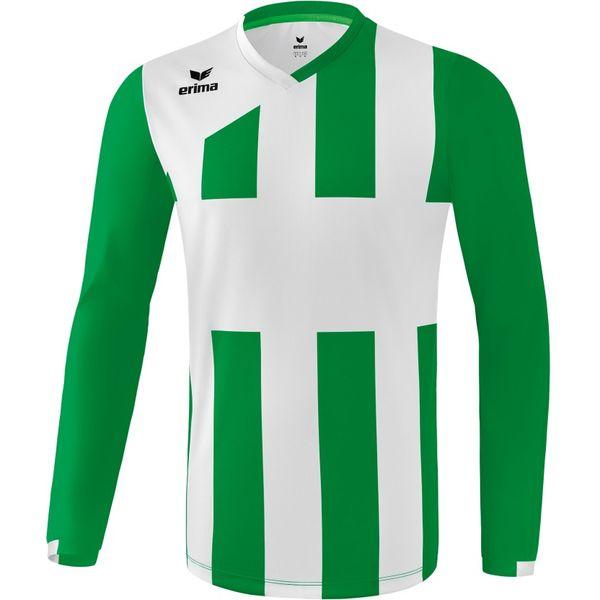 Erima Siena 3.0 Voetbalshirt Lange Mouw Kinderen - Smaragd / Wit