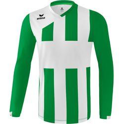 Erima Siena 3.0 Voetbalshirt Lange Mouw Heren - Smaragd / Wit