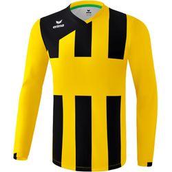 Erima Siena 3.0 Voetbalshirt Lange Mouw Heren - Geel / Zwart