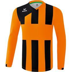 Erima Siena 3.0 Voetbalshirt Lange Mouw Kinderen - Oranje / Zwart