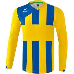 Erima Siena 3.0 Voetbalshirt Lange Mouw Kinderen - Geel / New Royal