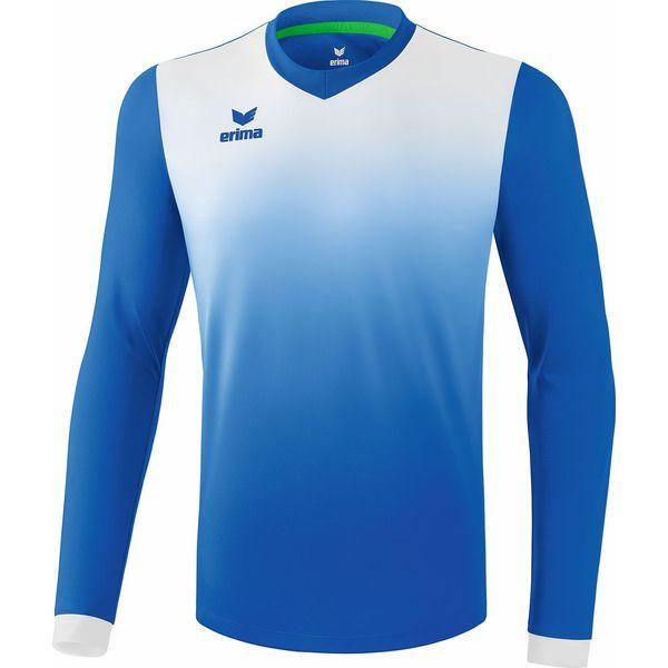 Erima Leeds Voetbalshirt Lange Mouw Kinderen - New Royal / Wit