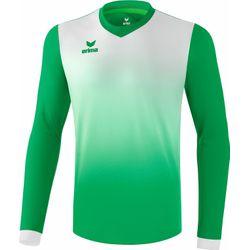 Erima Leeds Voetbalshirt Lange Mouw Kinderen - Smaragd / Wit