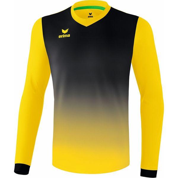 Erima Leeds Voetbalshirt Lange Mouw Kinderen - Geel / Zwart