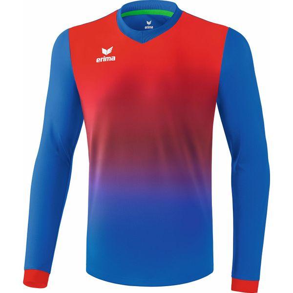 Erima Leeds Voetbalshirt Lange Mouw Heren - New Royal / Rood
