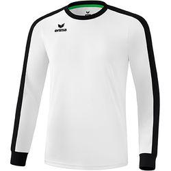 Erima Retro Star Voetbalshirt Lange Mouw Heren - Wit / Zwart