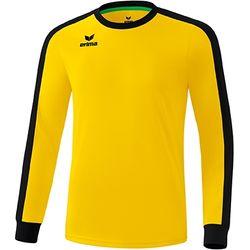 Erima Retro Star Voetbalshirt Lange Mouw Heren - Geel / Zwart