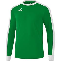 Erima Retro Star Voetbalshirt Lange Mouw Kinderen - Smaragd / Wit