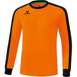 Erima Retro Star Voetbalshirt Lange Mouw Kinderen - New Orange / Zwart