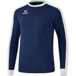 Erima Retro Star Voetbalshirt Lange Mouw Heren - New Navy / Wit