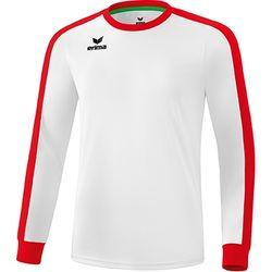 Erima Retro Star Voetbalshirt Lange Mouw Kinderen - Wit / Rood