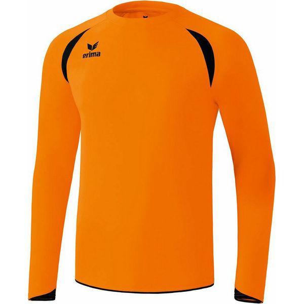 Erima Tanaro Voetbalshirt Lange Mouw Heren - Oranje / Zwart