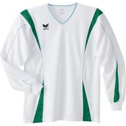 Erima Xetra Voetbalshirt Lange Mouw Heren - Wit / Groen