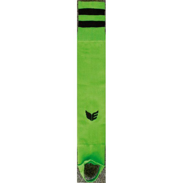 Erima Gestreepte Voetloze Kous - Green / Zwart