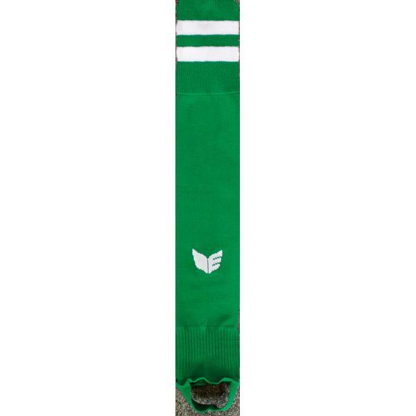 Erima Gestreepte Voetloze Kous - Smaragd / Wit