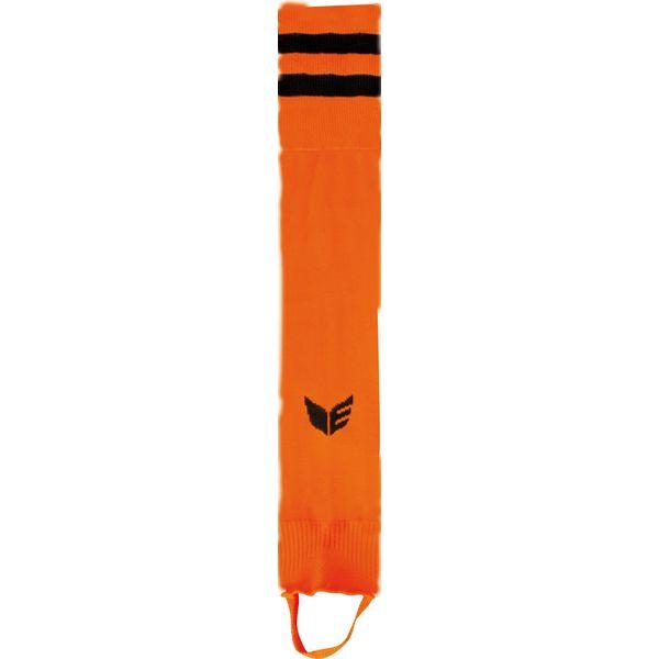Erima Gestreepte Voetloze Kous - Oranje / Zwart