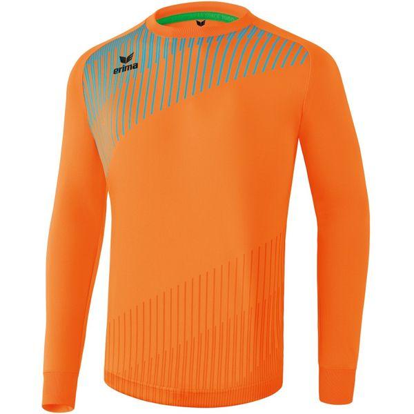 Erima Pro Keepershirt Lange Mouw - Neon Oranje / Curacao
