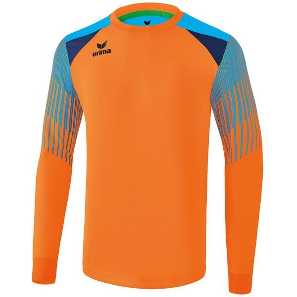 Erima Elemental Keepershirt Lange Mouw - Neon Oranje / Curacao