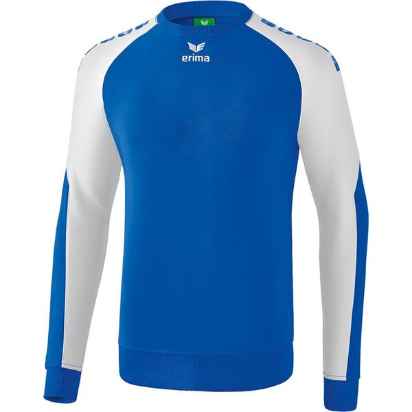 Erima Essential 5-C Sweatshirt Kinderen - New Royal / Wit