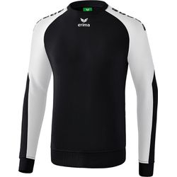 Erima Essential 5-C Sweatshirt - Zwart / Wit