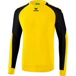 Erima Essential 5-C Sweatshirt Heren - Geel / Zwart