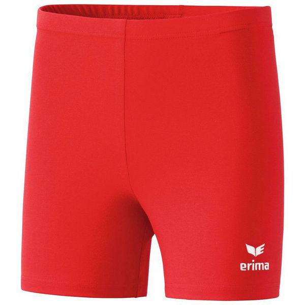 Erima Verona Tight Short Enfants - Rouge / Blanc