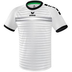 Erima Ferrara 2.0 Shirt Korte Mouw Heren - Wit / Zwart