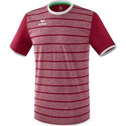 Erima Roma Shirt Korte Mouw Heren - Bordeaux / Wit
