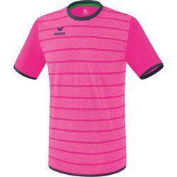 Erima Roma Shirt Korte Mouw Kinderen - Pink Glo / Slate Grey