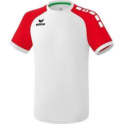 Erima Zenari 3.0 Shirt Korte Mouw - Wit / Rood