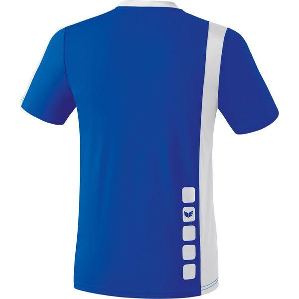 Erima Zamora Shirt Korte Mouw Kinderen - New Royal / Wit