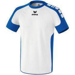 Erima Valencia Shirt Korte Mouw Kinderen - Wit / New Royal
