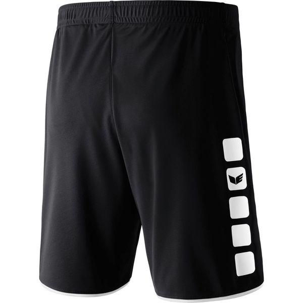 Erima 5-Cubes Short Kinderen - Zwart / Wit