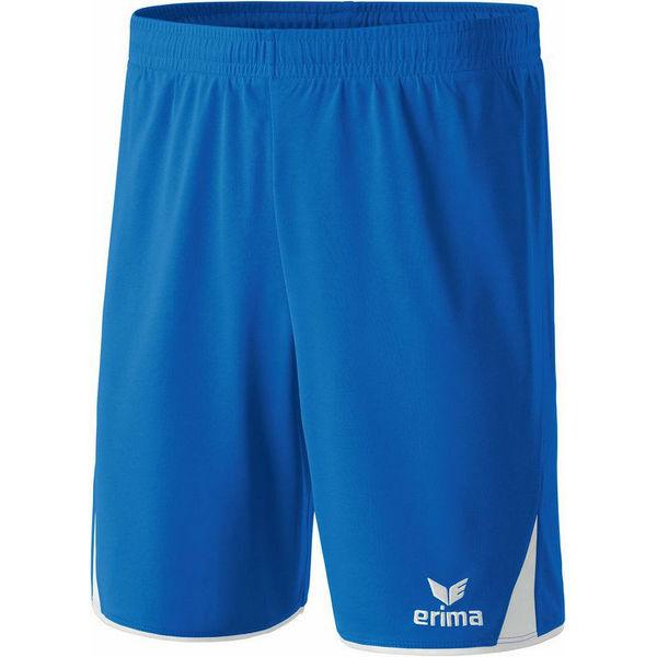 Erima 5-Cubes Short Hommes - Royal / Blanc