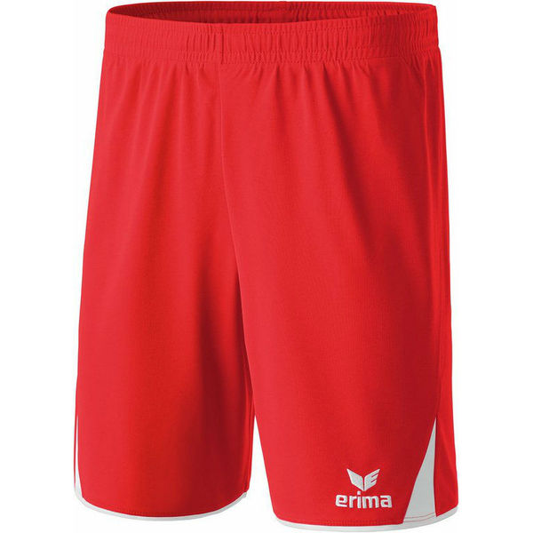 Erima 5-Cubes Short Heren - Rood / Wit