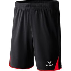 Erima 5-Cubes Short Kinderen - Rood / Zwart