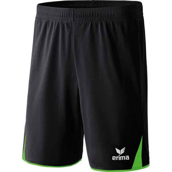 Erima 5-Cubes Short Hommes - Green / Noir