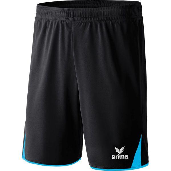 Erima 5-Cubes Short Hommes - Curaçao / Noir